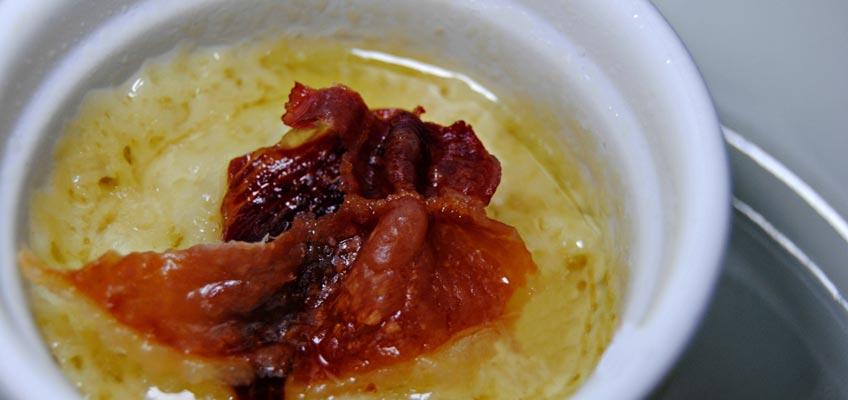 pecorino di pienza al prosciutto croccante