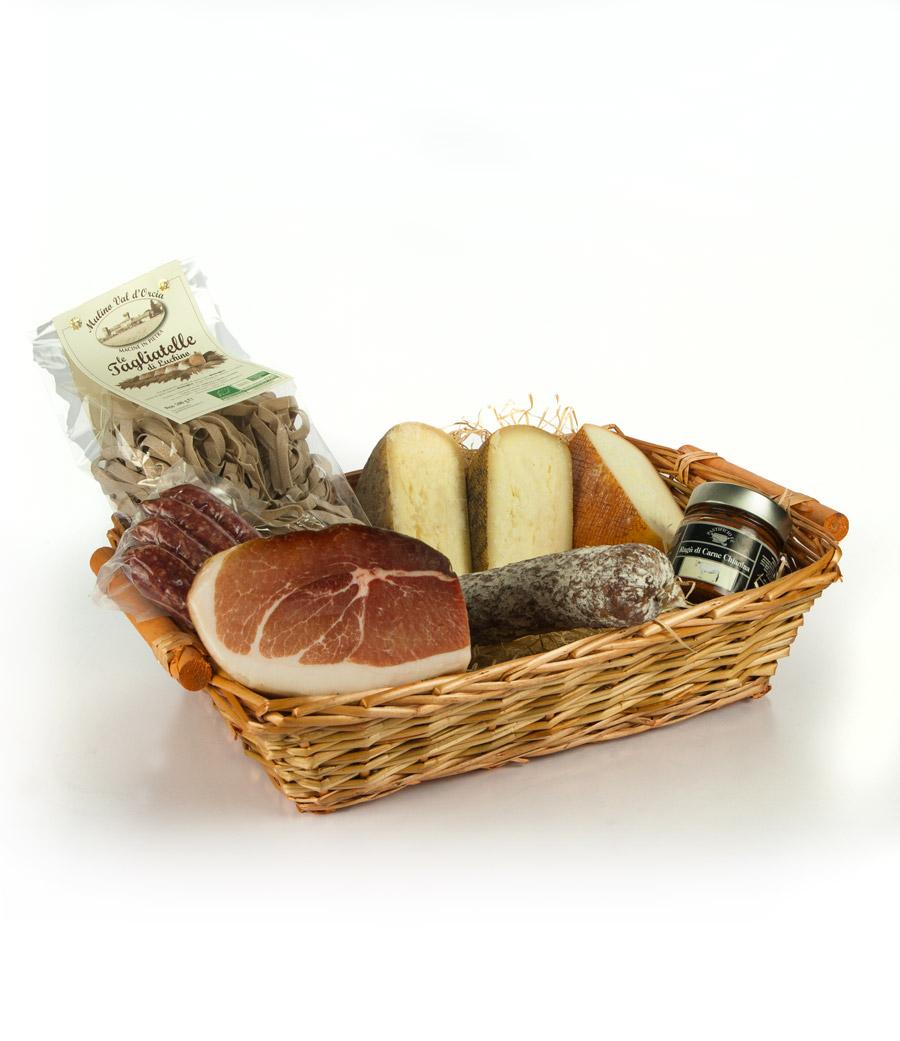 Cesto regalo prodotti tipici toscani - Cesto di Enzo