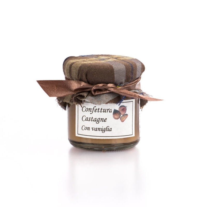 confettura di castagne e vaniglia