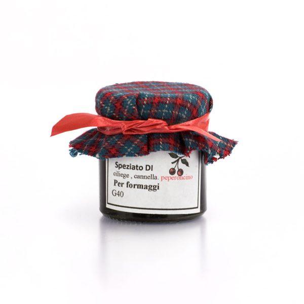confettura ciliegie cannella peperoncino