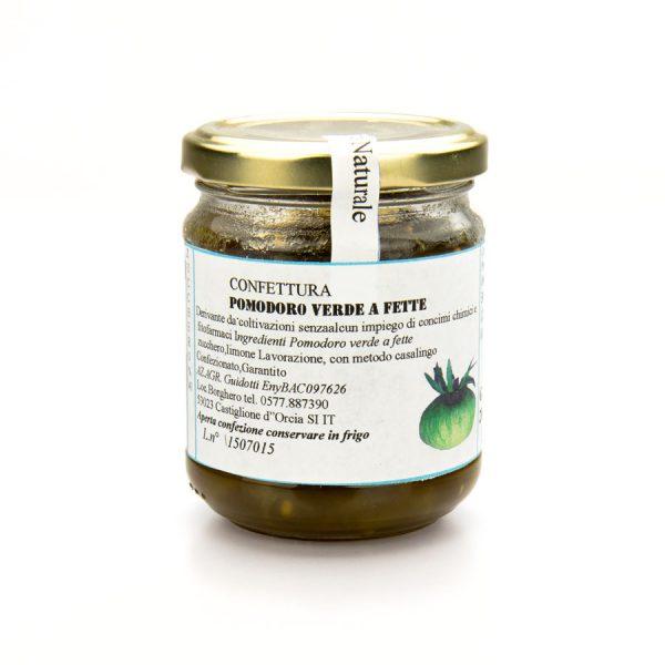 confettura di pomodoro verde naturale