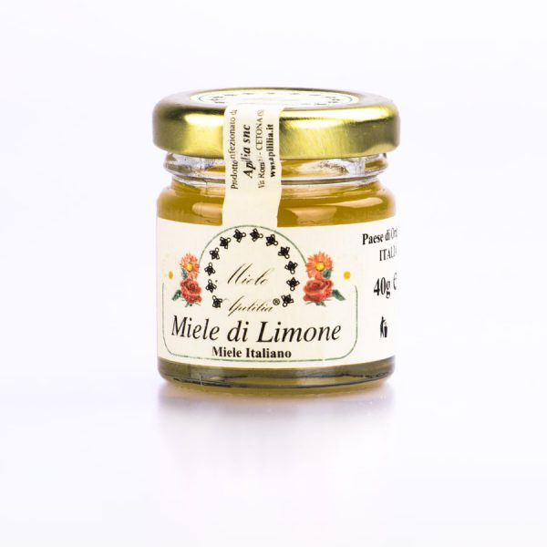 barattolino miele al limone biologico