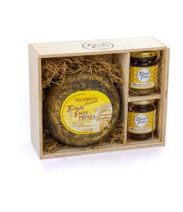 pecorino di pienza stagionato e miele toscano