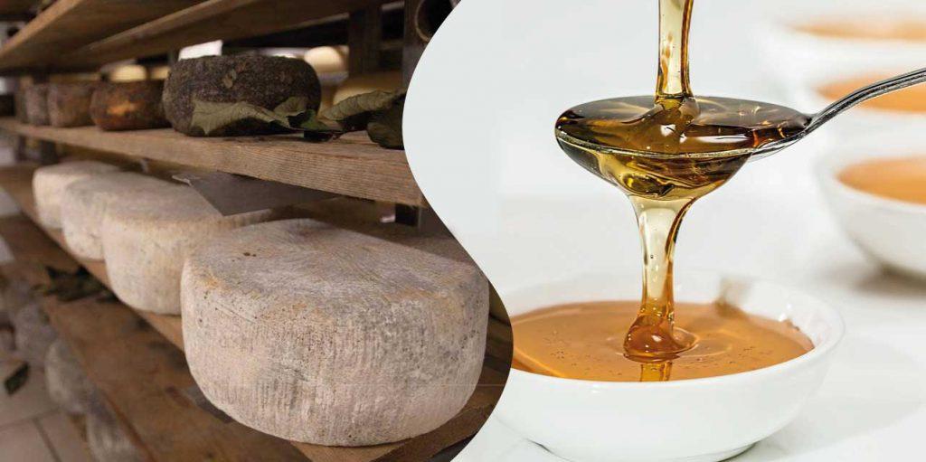 pecorino e miele