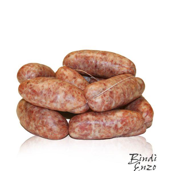 salsiccia di maiale fresca