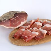 coscia di maiale a fette