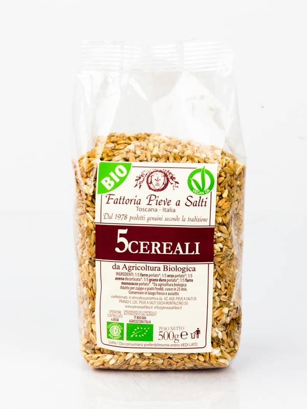 zuppa ai 5 cereali biologoca